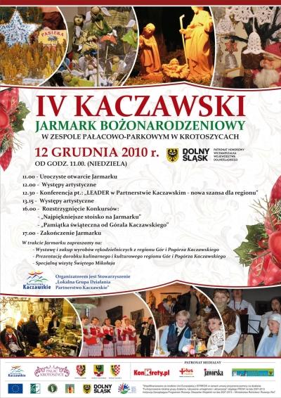 IV Kaczawski Jarmark Bożonarodzeniowy